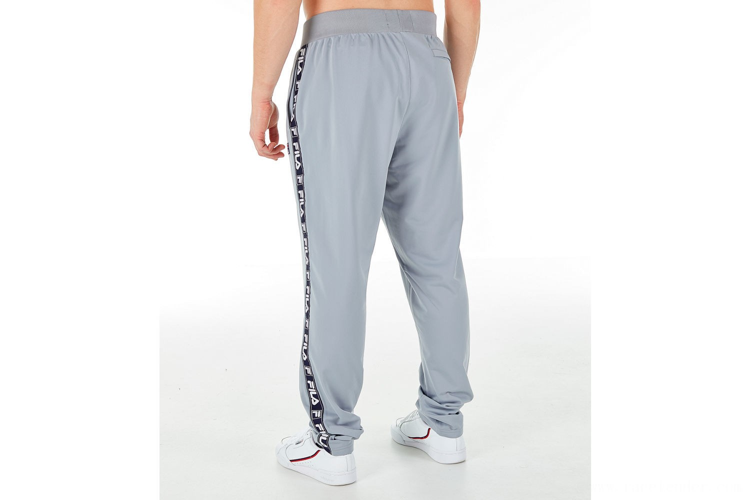 Fila Men's Tag Tricot Track Pants - Silver