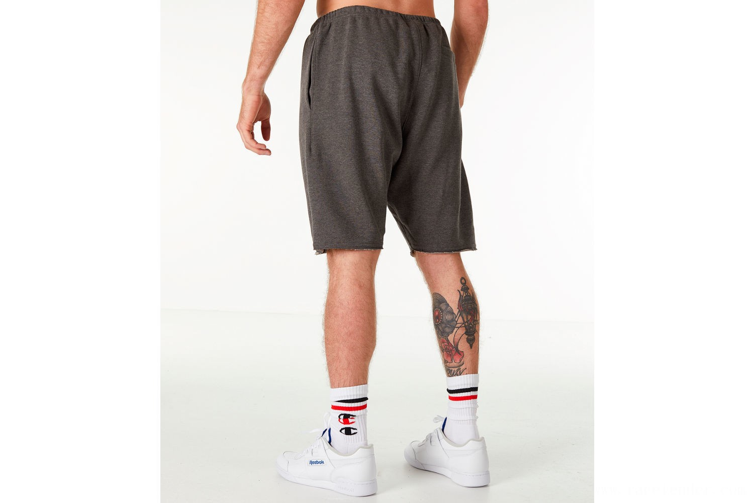 Champion Men's Life Fleece Shorts - Grey