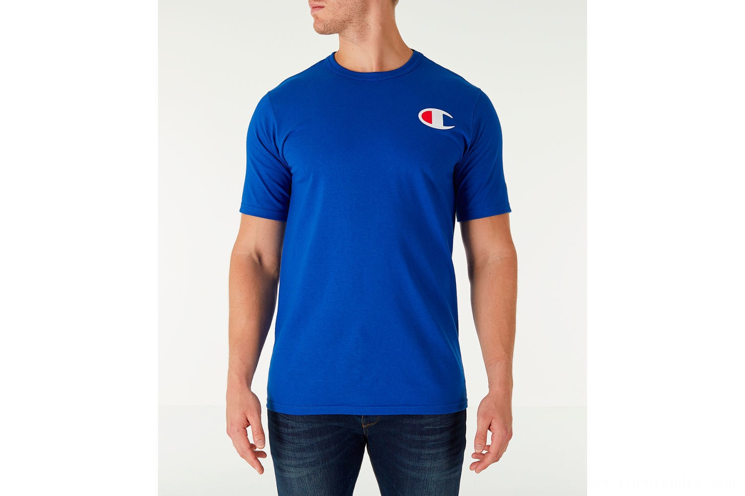 Champion Men's Life C Logo T-Shirt - Surf The Web