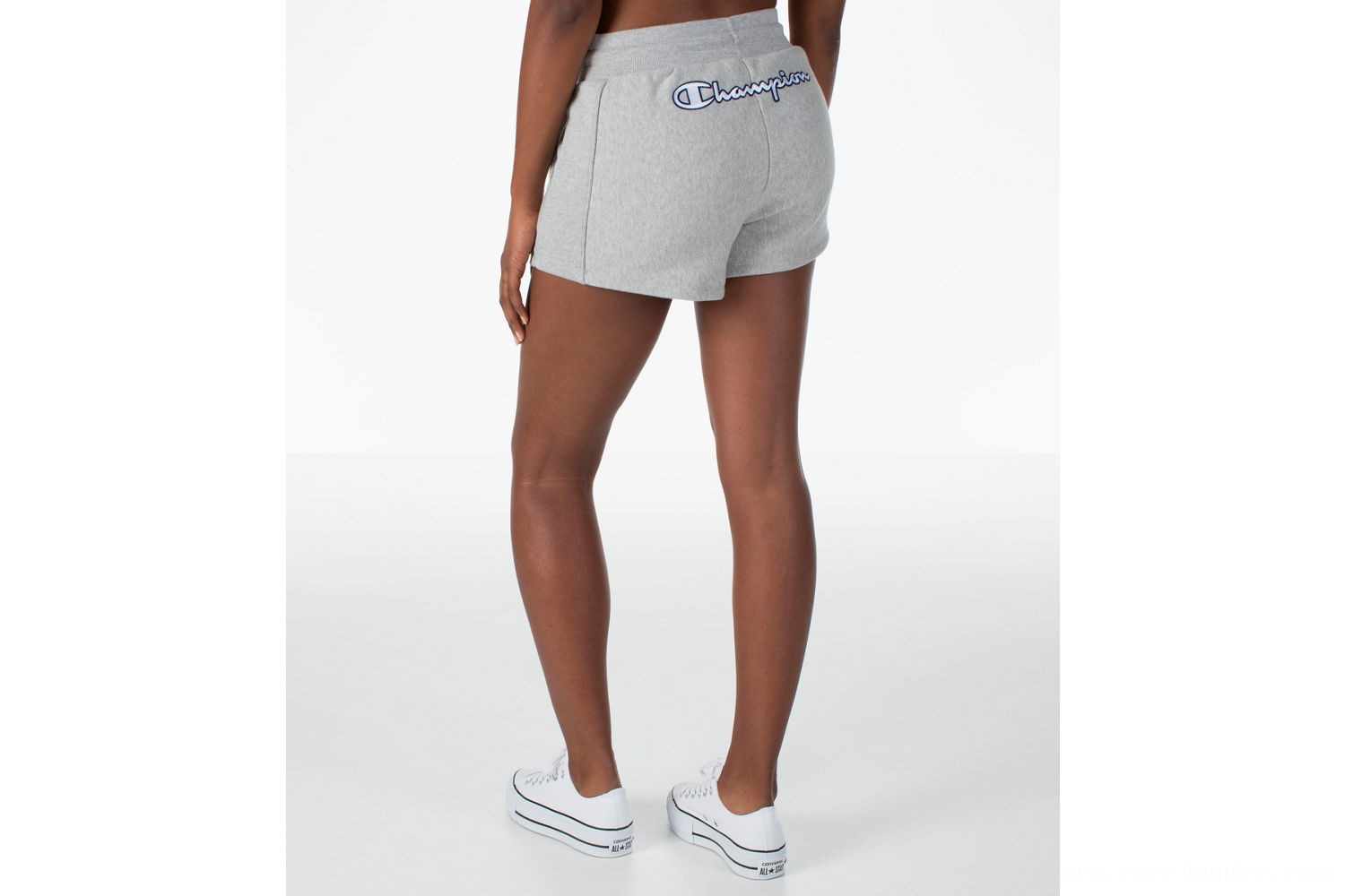 Champion Women's Heritage Shorts - Oxford Grey