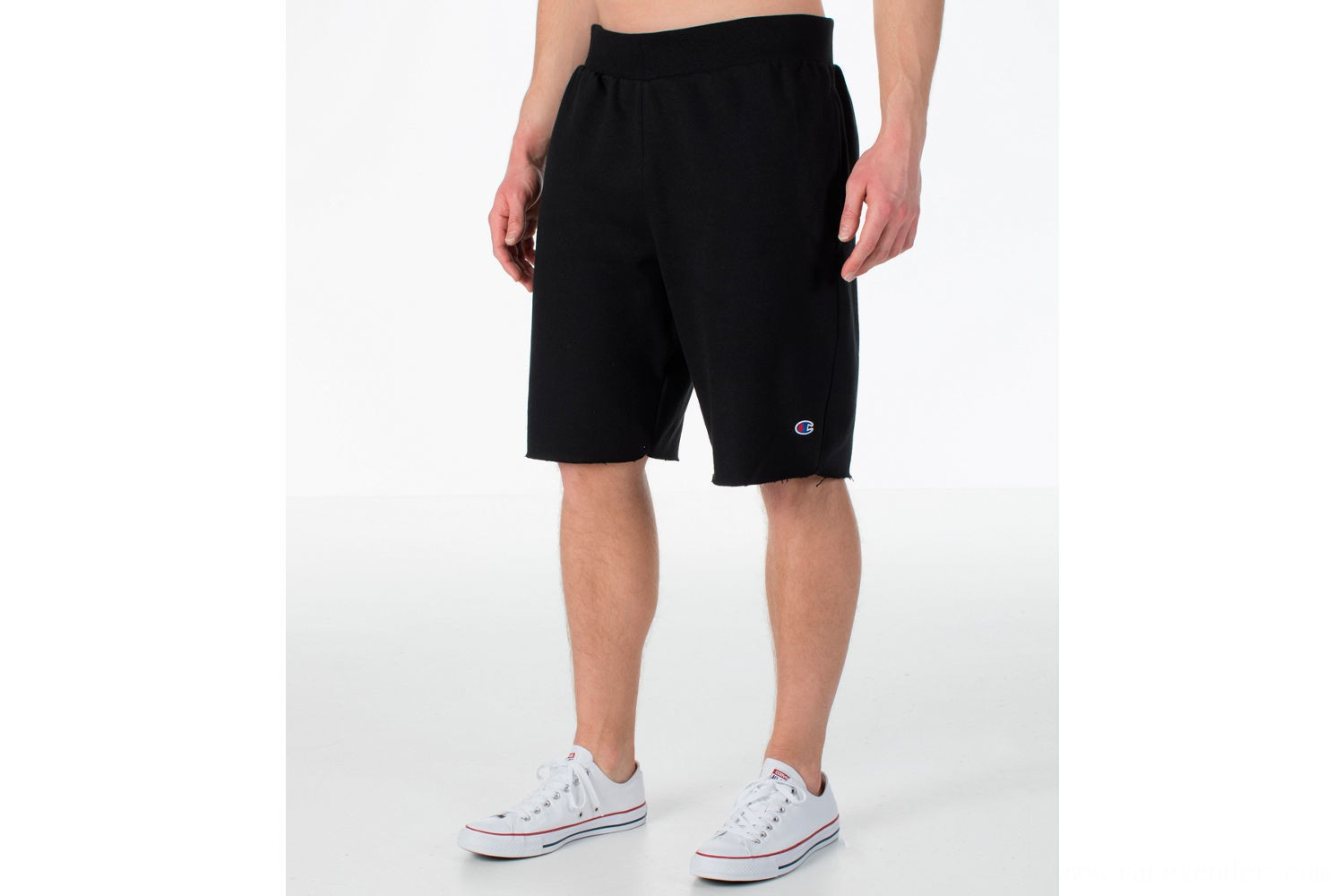 Champion Men's Reverse Weave Fleece Shorts - Black