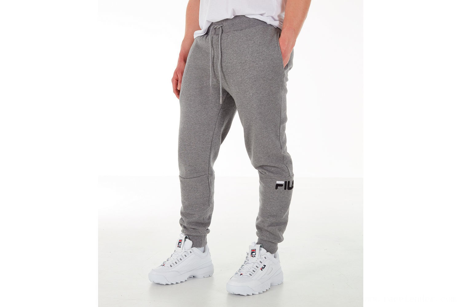 Fila Men's Topher Fleece Jogger Pants - Grey