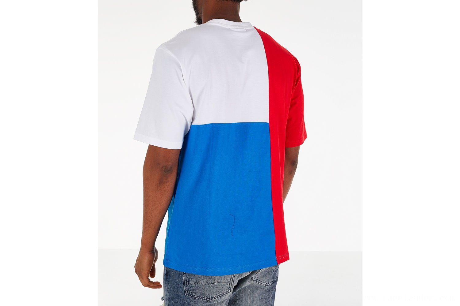 Fila Men's Indo T-Shirt - Red/White/Blue