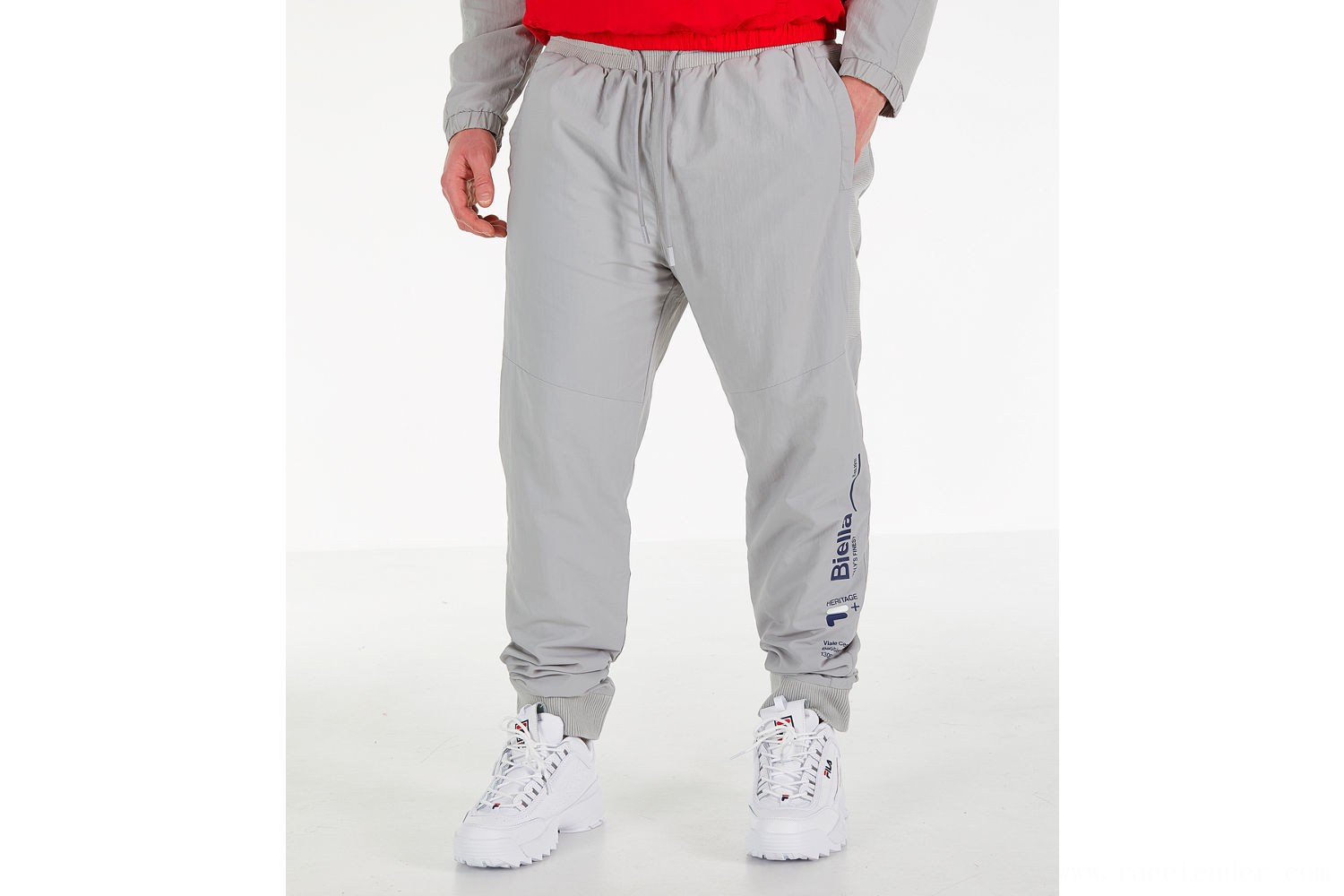 Fila Men's Orko Fleece Pants - Grey