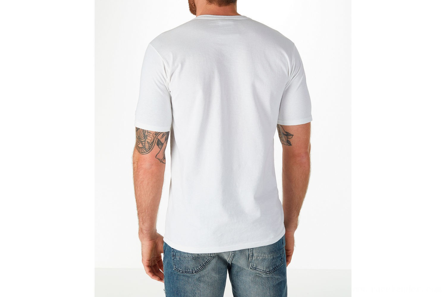 Champion Men's C Patch T-Shirt - White