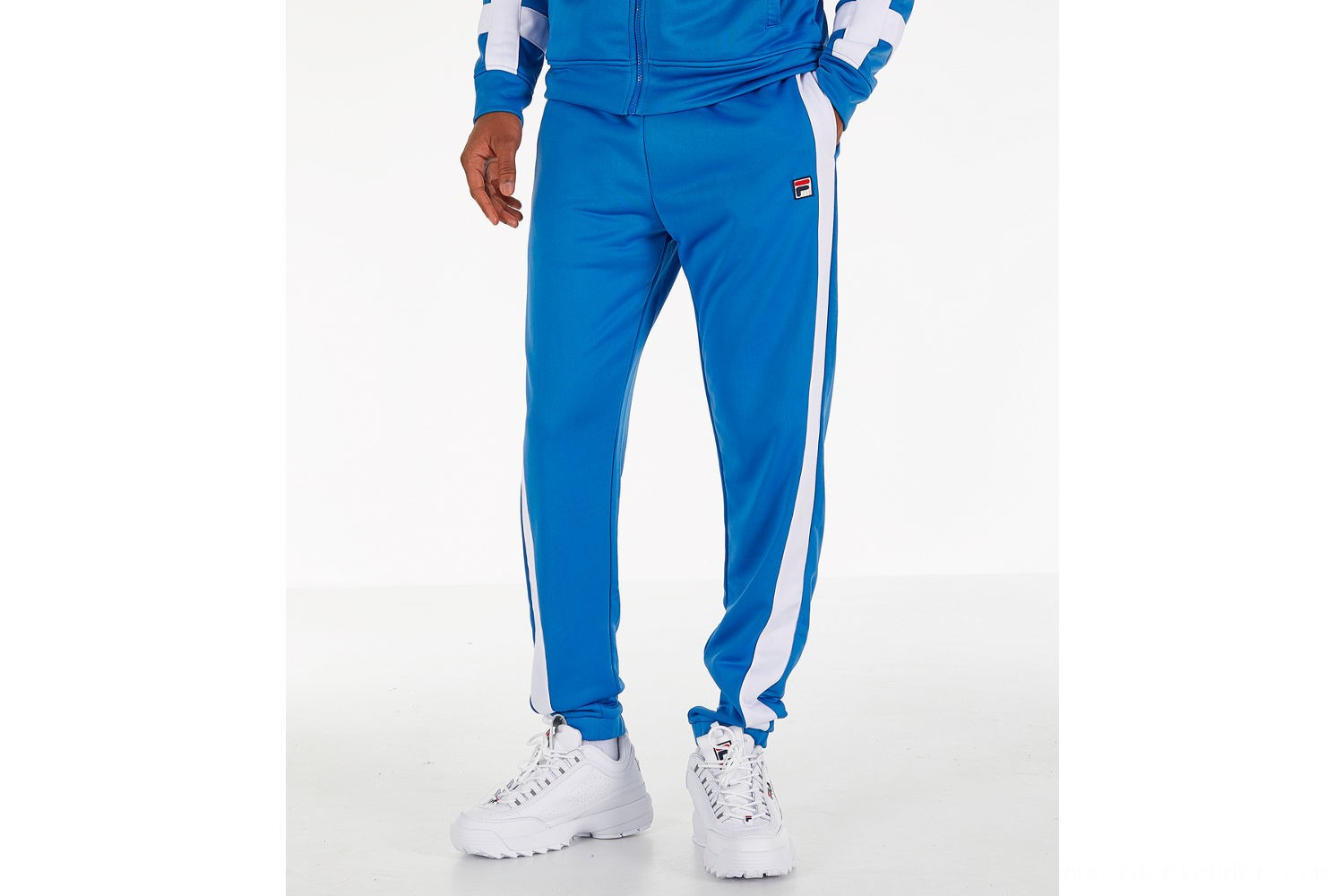 Fila Men's Renzo Track Pants - Blue